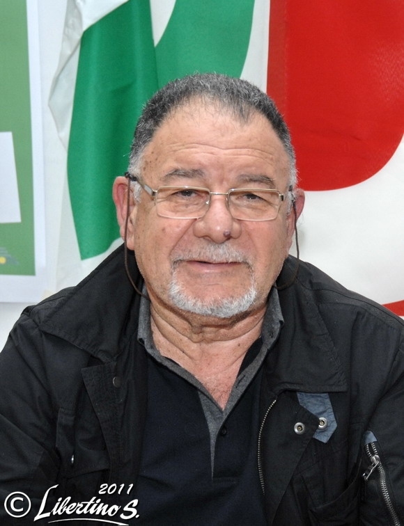 Il Commissario del PD di Vibo Valentia De Luca - foto Libertino
