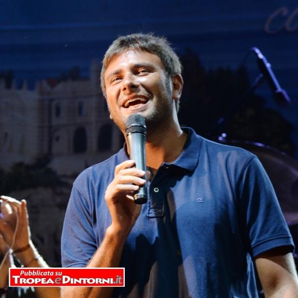 Alessandro Di Battista a Tropea - foto Libertino