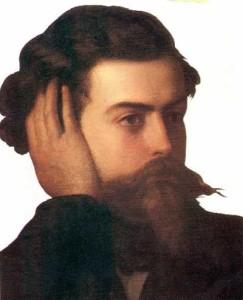Domenico Induno Ritratto di Goffredo Mameli Museo del Risorgimento di Genova