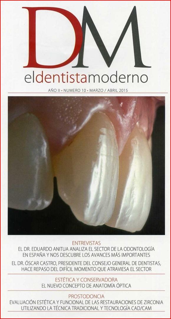 """La copertina della rivista """"El Dentista Moderno"""""""