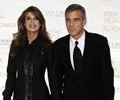 Elisabetta Canalis e Jeorge Clooney foto internet