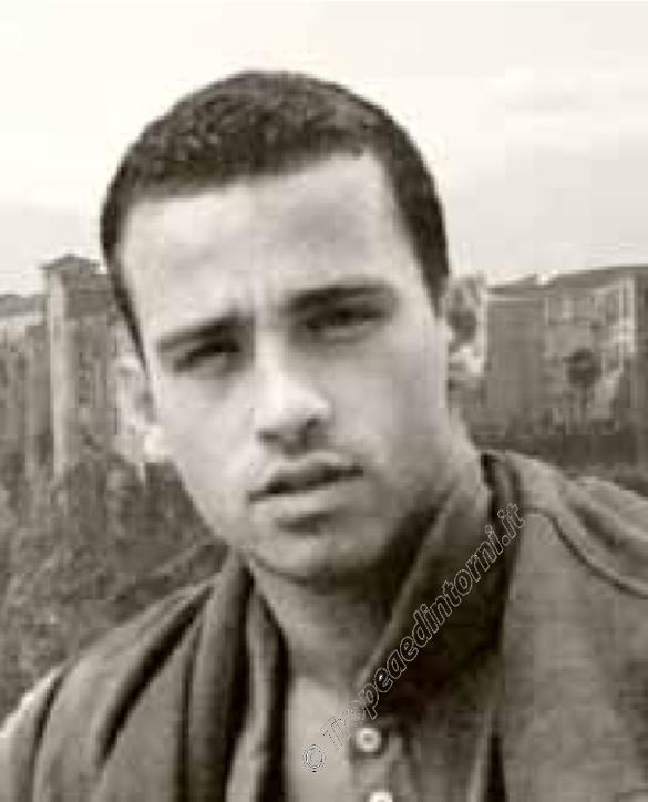 Il giovane Eros Ramazzotti