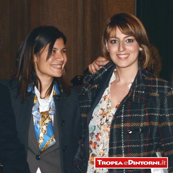 Federica Dieni e Dalila Nesci le giovani deputate del M5S - foto Libertino