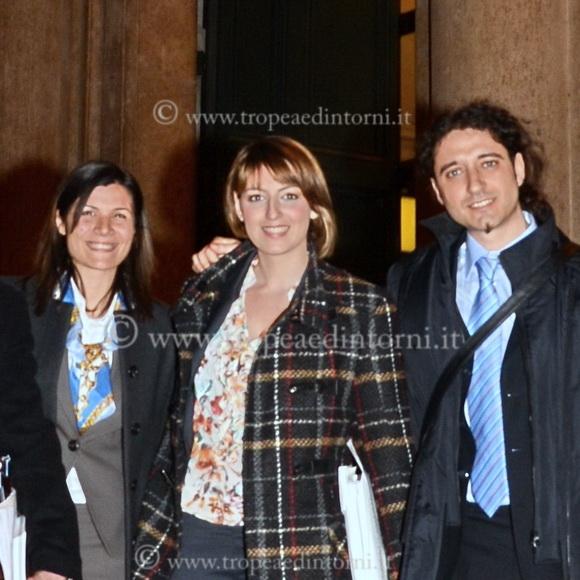 Parlamentari M5S, Federica Dieni Dalila Nesci Paolo Parentela - foto Libertino