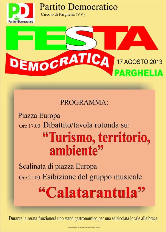 FestaDemocraticaParghelia2013