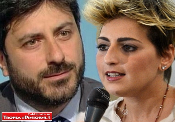 Il presidente della commissione di Vigilanza Rai, Roberto Fico, Dalila Nesci