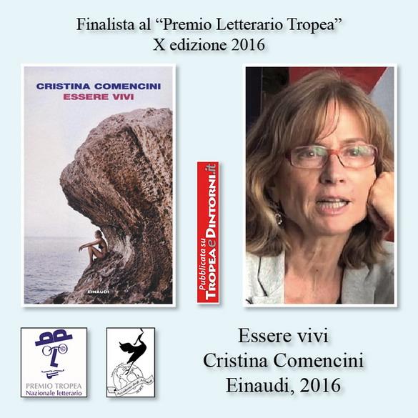 FinalistaPremioTropea2016X-EssereviviCristinaComenciniEinaudi