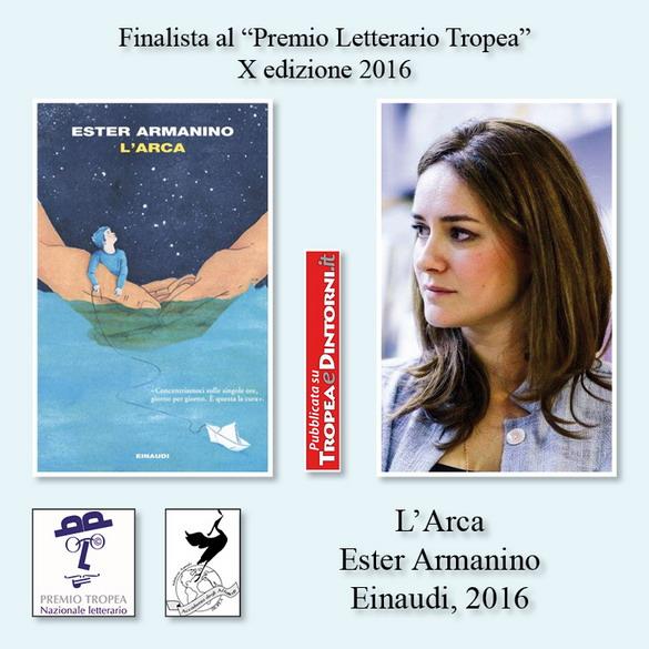 FinalistaPremioTropea2016X-LArcaEster-ArmaninoEinaudi