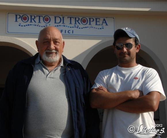 F. Colonna e N. Muscia, rappresentante in loco della Mercatore Srl - foto Libertino