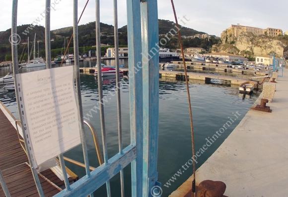 Il porto di Tropea oggi - foto Libertino
