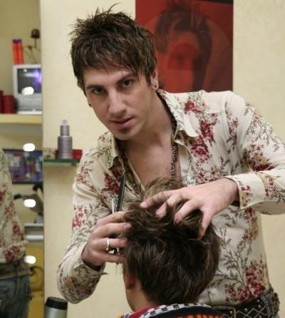 Gabriele Saturno hair stylist tropeano