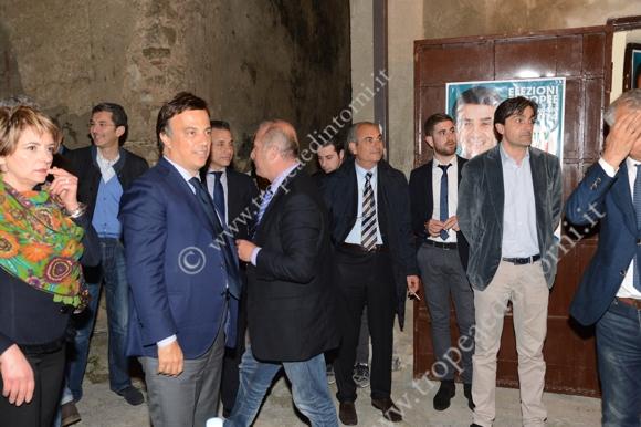 Foto di gruppo Limardo, Galati, Macrì - foto Libertino