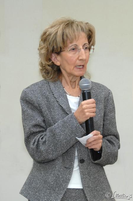 """La dottoressa Mary Giofrè presidente L'associazione """"Insieme Per"""""""