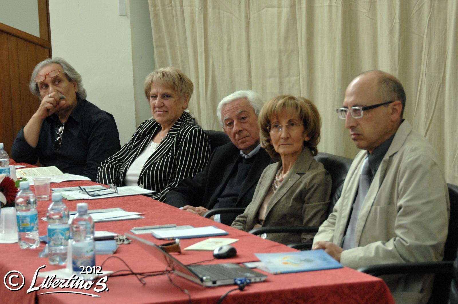 I relatori del convegno