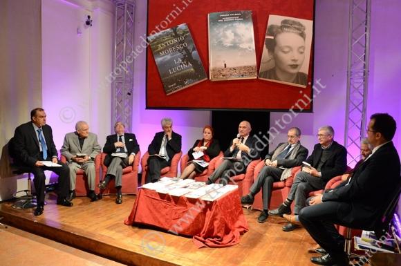 La giuria presieduta da Gian Arturo Ferrari - foto Libertino