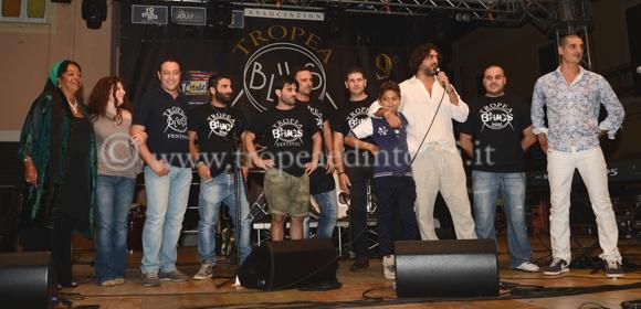 """Gli organizzatori del """"Tropea Blues Festival"""" - foto Libertino"""