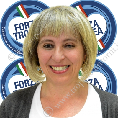Il consigliere Erminia Graziano del Gruppo Consiliare Forza Tropea - foto Libertino