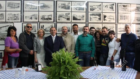 Foto di gruppo, associazioni, autorità, cittadini - foto Scordama