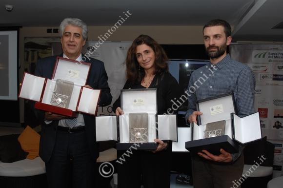 I vincitori della sesta edizione Gangemi. Cibrario, Torino - foto Libertino