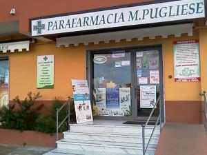 La parafarmacia Pugliese in via Libertà a Tropea.