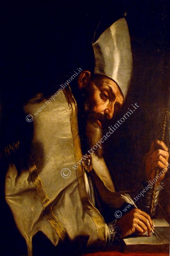 Il Sant'Ambrogio di Mattia Preti al Museo Diocesano di Tropea - foto Libertino