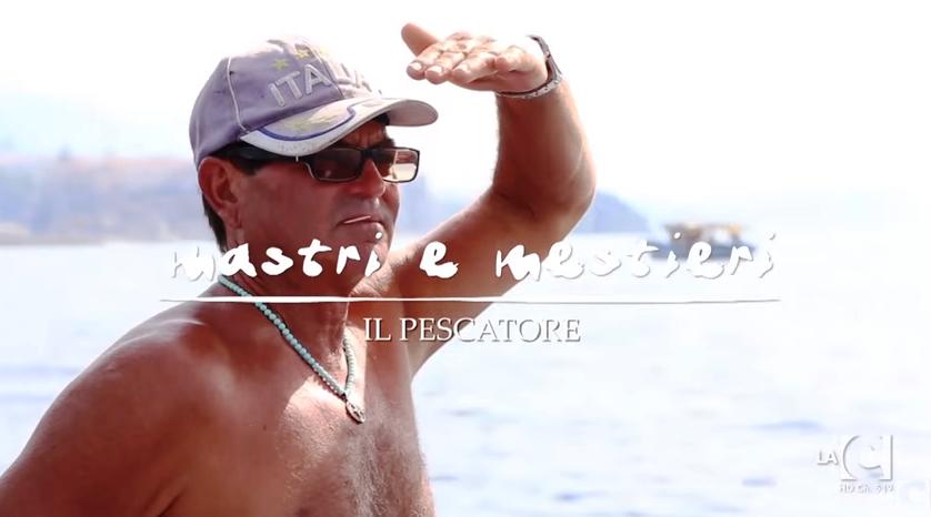 Il pescatore tropeano Michele Marchese