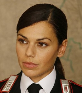 Ines Nobili nella fiction tv carabinieri foto internet