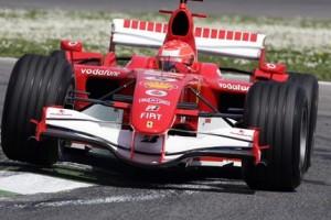 La Ferrari di Michael Schumacher a San Marino