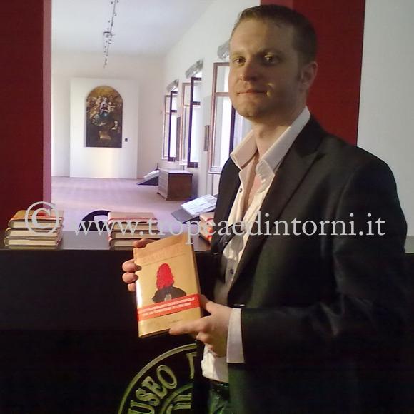 """Alessio Puleo l'autore del libro """"La Mamma dei Carabinieri"""" - foto Grillo"""