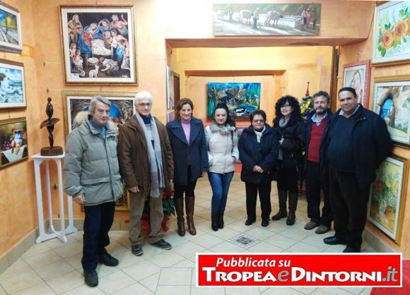 """Foto di gruppo degli Artisti del Club """"La Fenice"""""""