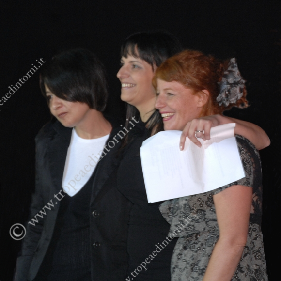 Le fondatrici di LaboArt: Maria Macrì, Annalisa Epifanio, Maria Grazia Teramo - foto Libertino