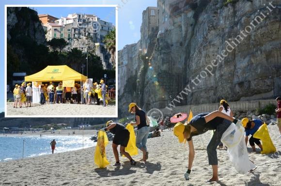 L'iniziativa di Legambiente realizzata dal Circolo di Ricadi e da importanti Tour Operator internazionali   - foto Libertino