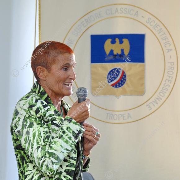 Il Dirigente Scolastico Beatrice Lento - foto Libertino