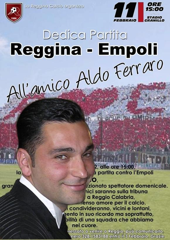 Locandina partita Reggina-Empoli