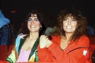 Loredana Bertè e Mia Martini foto internet