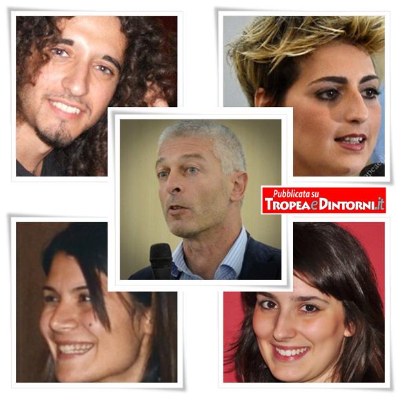 Movimento 5 Stelle - Nicola Morra, Dalila Nesci, Federica Dieni e Paolo Parentela