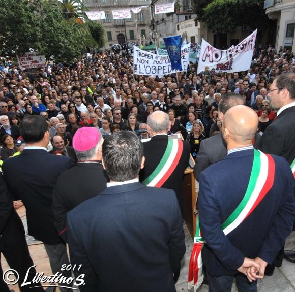 Manifestazione: No al Decreto 106 - foto Libertino