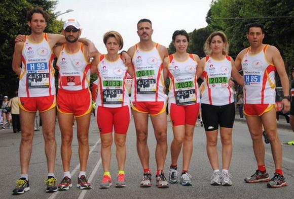 Gli atleti amanti di questo sport che non hanno voluto mancare alla maratona di Messina