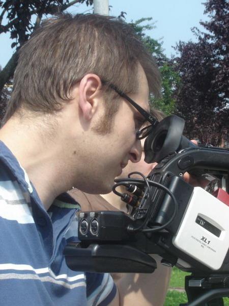 Marco Bonfanti.Il regista al lavoro