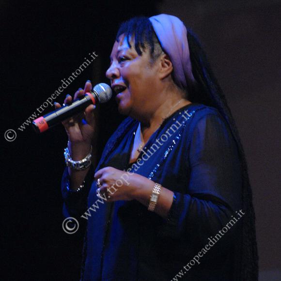 Mary birch Cipuja, la madrina del festival - foto Libertino