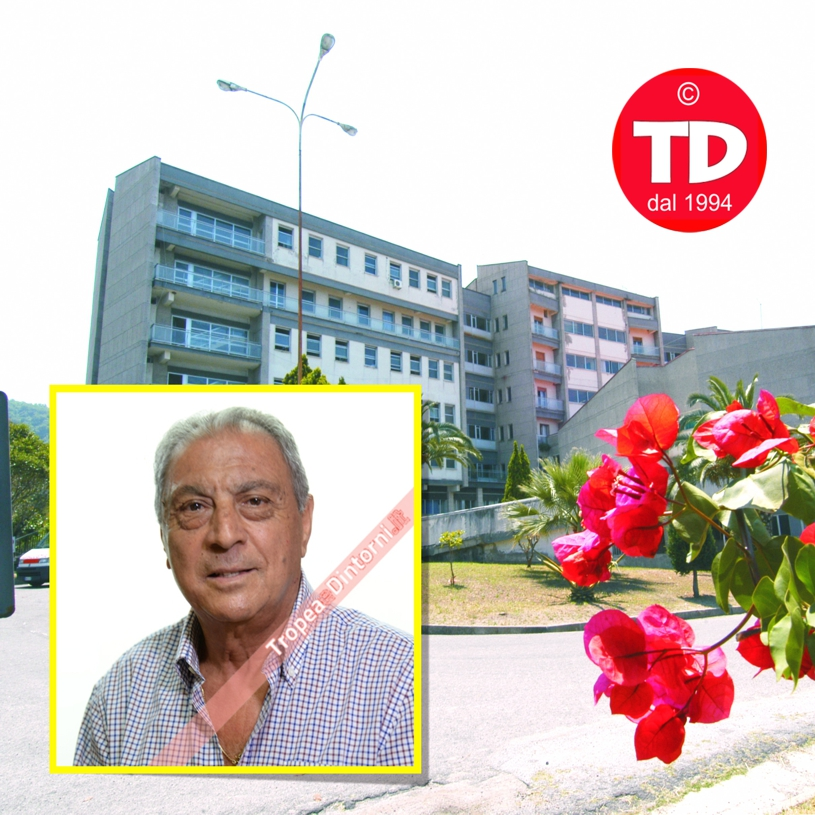L' ex Direttore Sanitario Dr. Tino Mazzitelli - foto Libertino