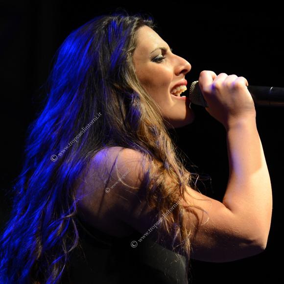 La giovane cantautrice calabrese Stella Sorrentino in arte MEISSA - foto Libertino