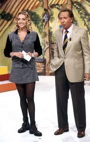 Mike Bongiorno e Paola Barale foto internet