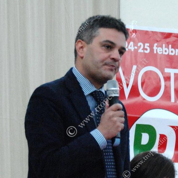 Michele Mirabello, Segretario Provinciale Partito Democratico Vibo Valentia- foto Libertino