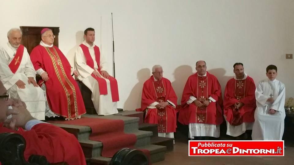 La cerimonia nelle Concattedrale di Tropea - foto Stroe