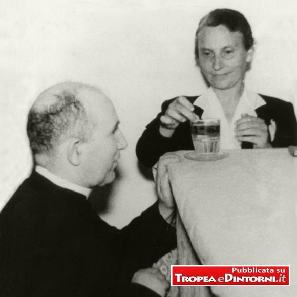 Don Francesco Mottola e l'Oblata Irma Scrugli