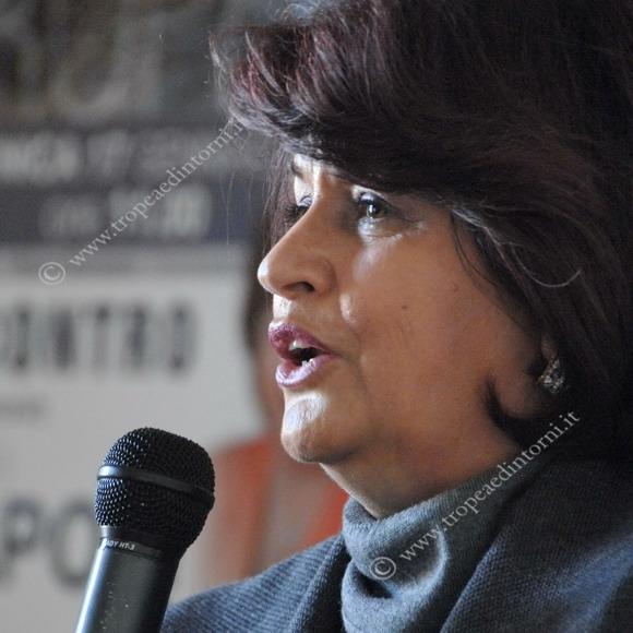 L'onorevole Angela Napoli - foto Libertino