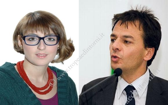 L'Onorovole Dalila Nesci ed il viceministro dell'Economia Stefano Fassina