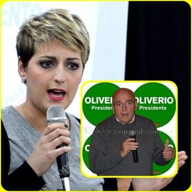 Dalila Nesci, Mario Oliverio - foto Libertino
