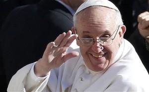 Papa Francesco immagine internet